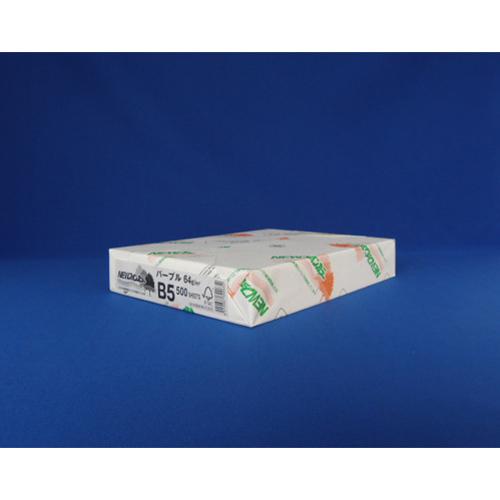 (まとめ) コピー用紙(カラー用紙) 北越紀州 NEWファインカラー NEWファインカラ-B5パ-プル 4535449317410 1冊【20×セット】