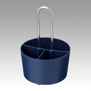 (まとめ) ケース サンナップ シュガー&ミルクケース ブルー SMC-1DB 4901627097892 1個【20×セット】