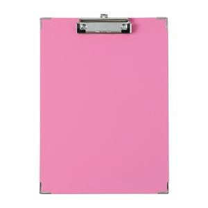 (まとめ) クリップボード キングジム クリップボード BF ピンク 308BFヒン 4971660023264 1枚【50×セット】