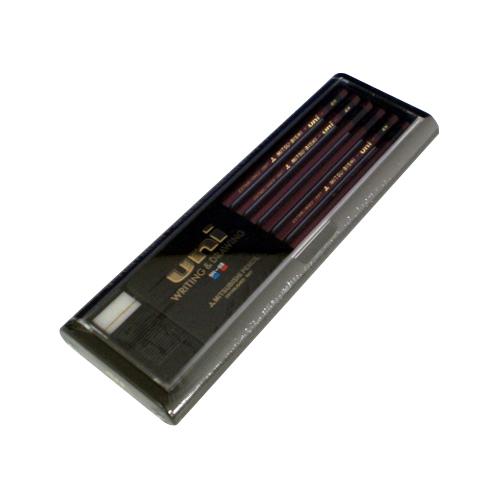 (まとめ) 鉛筆 三菱鉛筆 鉛筆 U4H 4902778973400 ●硬度:4H 1打【10×セット】