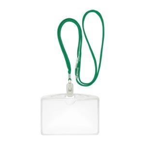 (まとめ) 名札 クラウン クラウン吊下げ名札エコノミータイプ 緑 CR-NF62-G 4953349081628 1袋【10×セット】