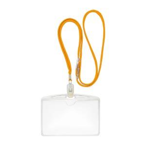 (まとめ) 名札 クラウン クラウン吊下げ名札エコノミータイプ 黄色 CR-NF62-Y 4953349081635 1袋【10×セット】