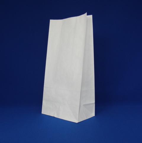 (まとめ) 紙袋 シモジマ HEIKO 角底袋 白 004052800 4901755361834 1袋【20×セット】