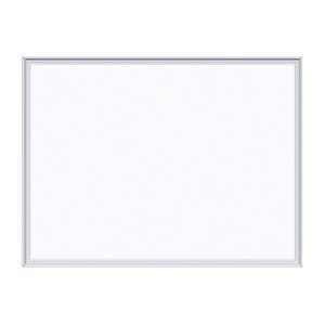 (まとめ) ホワイトボード 馬印 壁掛無地ホワイトボード MH2 4965719112009 ●外寸:横610×縦460×厚12mm●重量:2.5kg 1枚【5×セット】