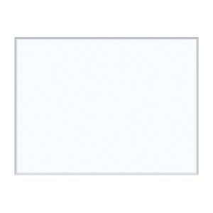 オフィス家具 ホワイトボード 壁掛無地ホワイトボード 単品 馬印 おトク 高い素材 4965719116007 外寸:横1210×縦910×厚18mm 重量:9.4kg MH34