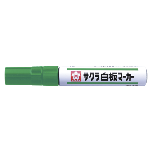 (まとめ) ホワイトボードマーカー サクラクレパス 白板マーカー中字用 緑 WBK#29 4901881185915 1本【100×セット】