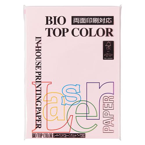 (まとめ) コピー用紙(カラー用紙) 伊東屋 バイオトップカラー フラミンゴ BT131 4944257022087 1冊【20×セット】