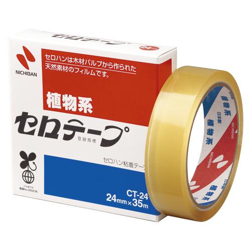 (まとめ) セロハンテープ ニチバン セロテープ[R] CT-24 4987167000424 ●寸法:幅24mm×長35m 1個【30×セット】