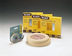 (まとめ) 製図用品 スリーエム スコッチ[R] ドラフティングテープ 製図用テープ 230-3-12 4901690005848 ●テープ寸法:幅12mm×長30m 1個【20×セット】