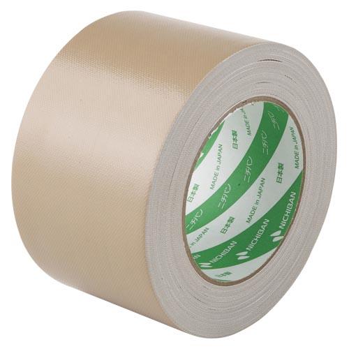 (まとめ) 布テープ ニチバン 布粘着テープ(重量物封かん用) 黄土色 102N7-75 4987167029432 ●寸法:幅75mm×長25m 1個【20×セット】