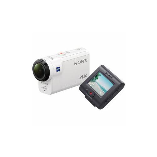SONY デジタル4Kビデオカメラレコーダー アクションカム ライブビューリモコンキット FDR-X3000R