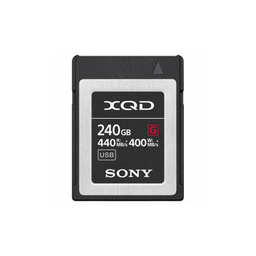 【スーパーセールでポイント最大44倍】SONY XQDメモリーカード 240GB QDG240F