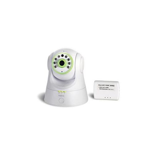 【スーパーセールでポイント最大44倍】NEC ネットワークカメラ AtermHC100RC Wi-Fiアクセスポイントセット PAHC100RCAP