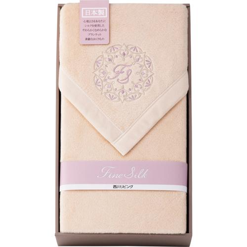 シルクコットンリバーシブル毛布(毛羽部分) L4199017