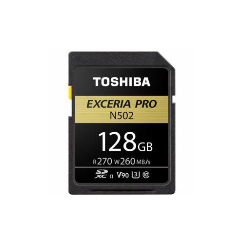 TOSHIBA SDHC/SDXCメモリカード 「EXCERIA PRO」 128GB SDXU-D128G