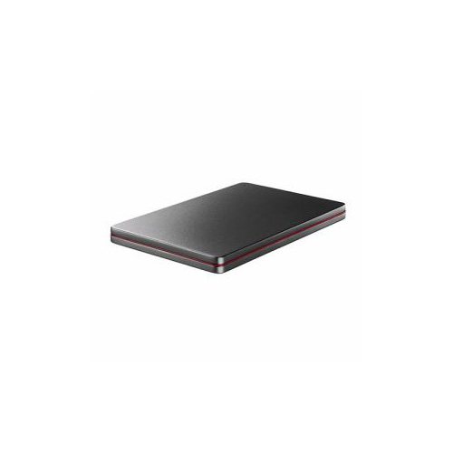 IOデータ USB 3.0/2.0対応 ポータブルハードディスク「カクうす」 Black×Red 2TB HDPX-UTS2K