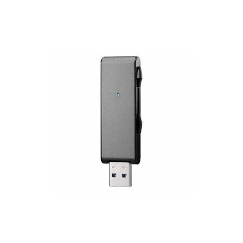 IOデータ USB3.1 Gen 1(USB3.0)対応 アルミボディUSBメモリー 「U3-MAX2シリーズ」 256GB・ブラック U3-MAX2/256K