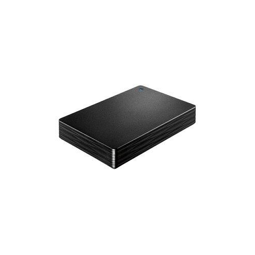 IOデータ 外付けHDD カクうす Lite ブラック ポータブル型 4TB HDPH-UT4DKR