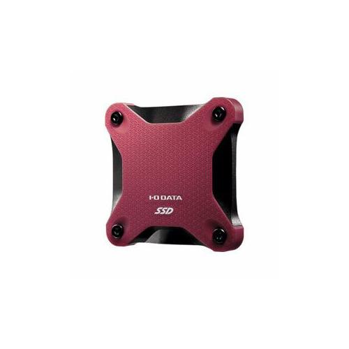IOデータ USB 3.1 Gen 1対応ポータブルSSD 960GB ワインレッド SSPH-UT960R
