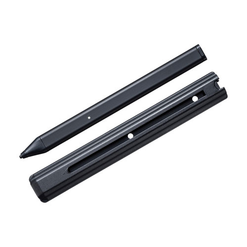 サンワサプライ 充電式自動電源ON/OFFタッチペン(ブラック) PDA-PEN45BK