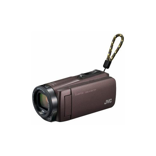 JVC Everio(エブリオ) 32GBメモリー内蔵ハイビジョンメモリービデオカメラ (ブラウン) GZ-F270-T