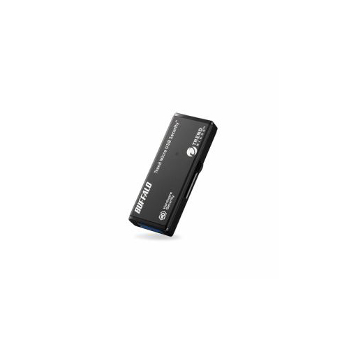 BUFFALO バッファロー USB3.0対応セキュリティーUSBメモリー 8GB ウイルスチェックモデル 1年保証タイプ RUF3-HSL8GTV