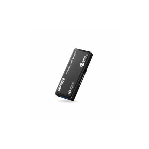 BUFFALO バッファロー USB3.0対応セキュリティーUSBメモリー 32GB ウイルスチェックモデル 1年保証タイプ RUF3-HSL32GTV