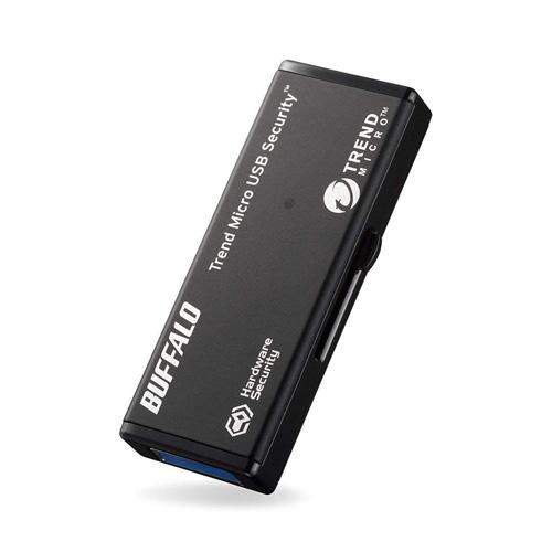BUFFALO USB3.0対応セキュリティーUSBメモリー 4GB ウイルスチェックモデル 3年保証タイプ RUF3-HSL4GTV3