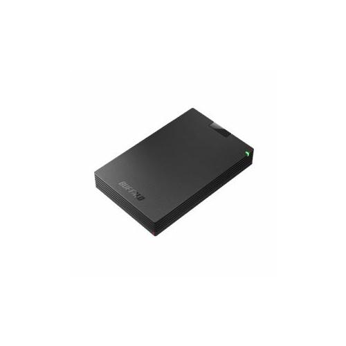 BUFFALO バッファロー ミニステーション USB3.1(Gen1)/USB3.0 ポータブルHDD 2TB ブラック HD-PCG2.0U3-GBA