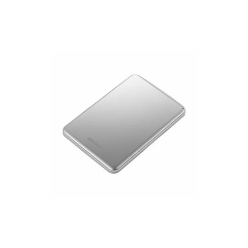 BUFFALO USB3.1(Gen1)/USB3.1 ポータブルHDD 2TB シルバー HD-PUS2.0U3-SVD