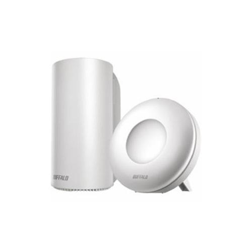 BUFFALO AirStation connect デュアルバンドルーター スターターキット Wi-Fi親機1台+専用中継機1台 WRM-D2133HP/E1S