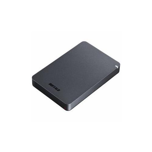 BUFFALO ポータブルHDD ブラック 2TB HD-PGF2.0U3-BBKA:インテリアの壱番館