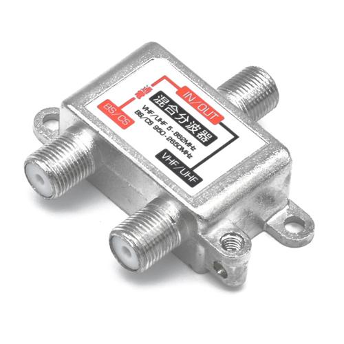 日本トラストテクノロジー クーポン配布中 半額 TVアンテナ混合分波器 激安価格と即納で通信販売 JSC-019