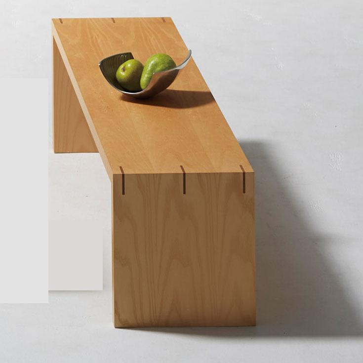 ナチュラル : シンプルスクエア ローテーブル【cract】 ナチュラル センターテーブル コーヒー カフェ ロータイプ 座卓 長方形 木製