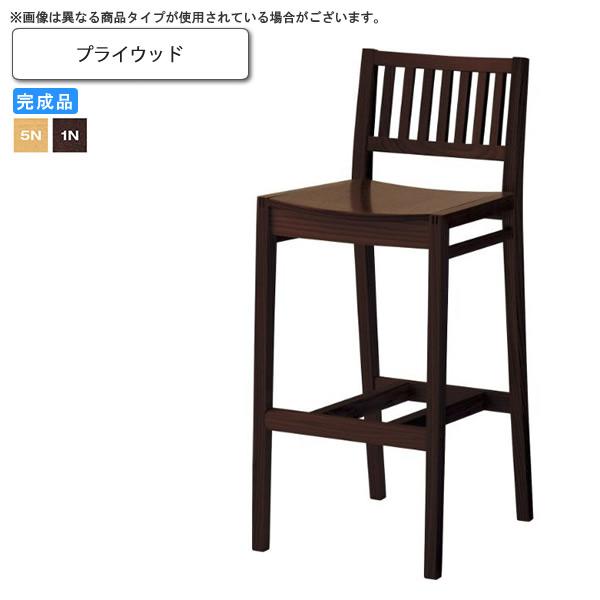 プライウッド 和風カウンターチェア 業務用家具:wood japaneseシリーズ★ レイサン送料無料 完成品 (和風)