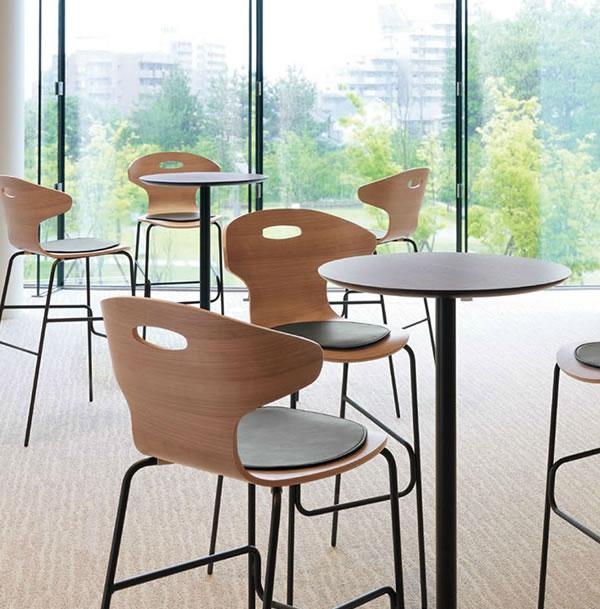 ロータイプ張りぐるみカウンターチェア業務用家具:counterシリーズ★セポラ送料無料完成品日本製受注生産別張品