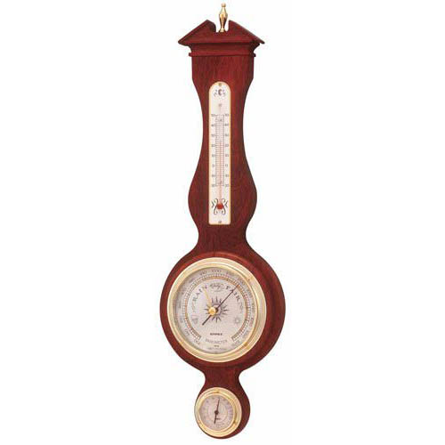【マラソンでポイント最大43倍】EMPEX 温度・湿度・気圧計 トラディション 気象計 掛用 BM-715