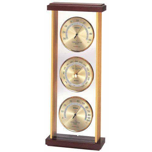 【マラソンでポイント最大43倍】EMPEX スーパーEX 気象計 EX-744 ゴールド