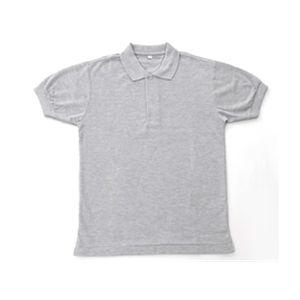 マーケット 無地鹿の子ポロシャツ 杢グレー 3Lアウトドア 軍服 レビューを書けば送料当店負担 トレッキング ミリタリー ミリタリーグッズ ミリタリー用品 タクティカルウェア ミリタリーウェア 3L ミリタリーウエア グレー 杢