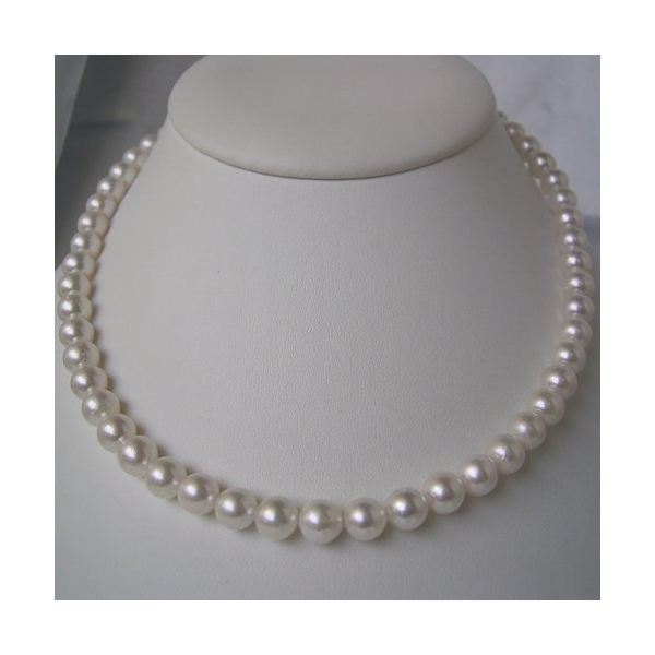 【マラソンでポイント最大44倍】和珠本真珠 7.5~8.0mm パールネックレス