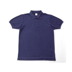 無地鹿の子ポロシャツ ネイビー3Lアウトドア 軍服 トレッキング ミリタリー ミリタリーグッズ タクティカルウェア ギフト 訳あり ミリタリー用品 ミリタリーウェア ネイビー3L ミリタリーウエア