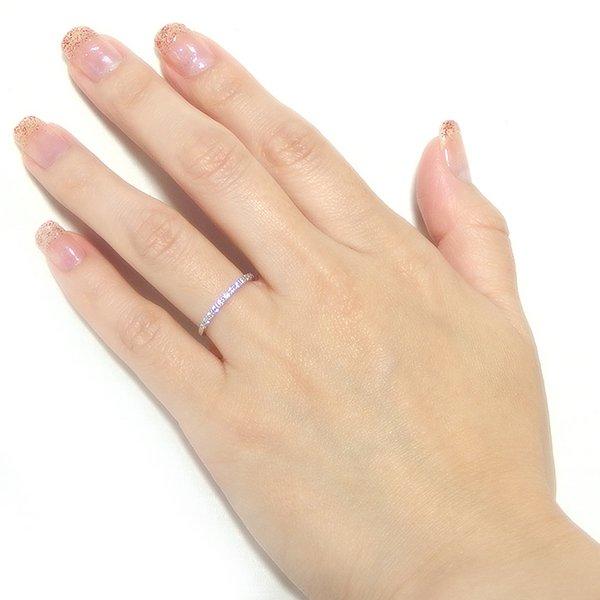 ダイヤモンド リング ハーフエタニティ 0 2ct 12 5号 プラチナ Pt900 ハーフエタニティリング 指輪DIEHW29