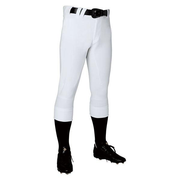 【スーパーセールでポイント最大44倍】デサント(DESCENTE) ユニフィットパンツプラス レギュラーフィットパンツ (野球) DB1119P Sホワイト M