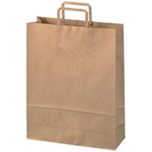 ジョインテックス 手提袋 平紐 茶 大 300枚 B293J-B6