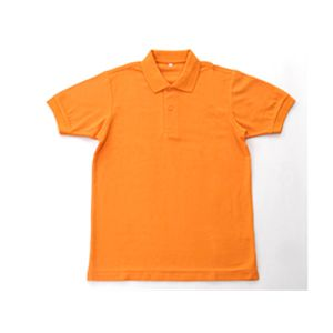 無地鹿の子ポロシャツ 低廉 オレンジ Lアウトドア 軍服 トレッキング ミリタリー 人気 ミリタリーウエア ミリタリー用品 ミリタリーグッズ L ミリタリーウェア タクティカルウェア