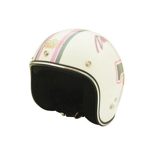 ダムトラックス(DAMMTRAX) ヘルメット ポポセブンヘルメット WH キッズ