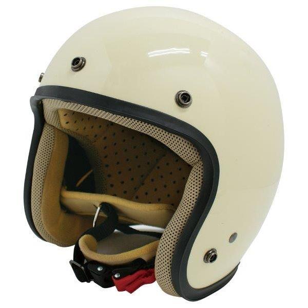 ダムトラックス(DAMMTRAX) ジェットヘルメット ジェット-D パールアイボリー レディース (57cm~58cm)