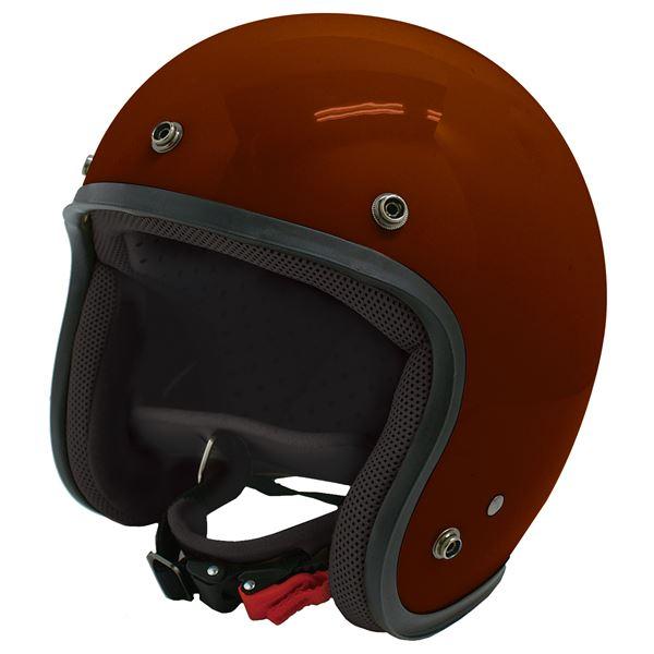 ダムトラックス(DAMMTRAX) ジェットヘルメット ジェット-D マルーン メンズ (57cm~60cm未満)