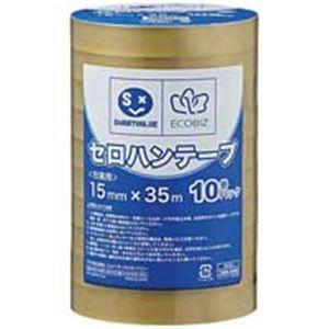 【スーパーセールでポイント最大44倍】ジョインテックス セロハンテープ15mm×35m200巻 B638J-200