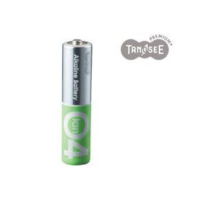 (まとめ)TANOSEE アルカリ乾電池プレミアム 単4 20本入×10箱